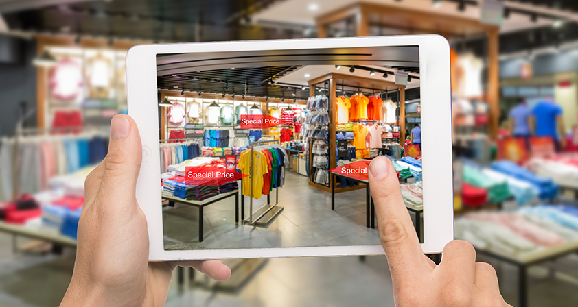 Augmented Reality in retails