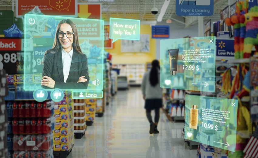 Augmented Reality customer engagement