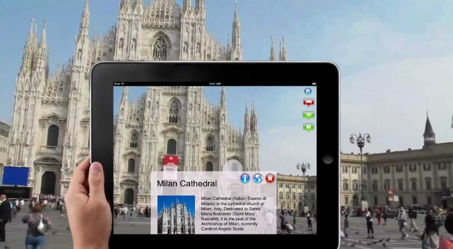 Augmented Reality in Travel