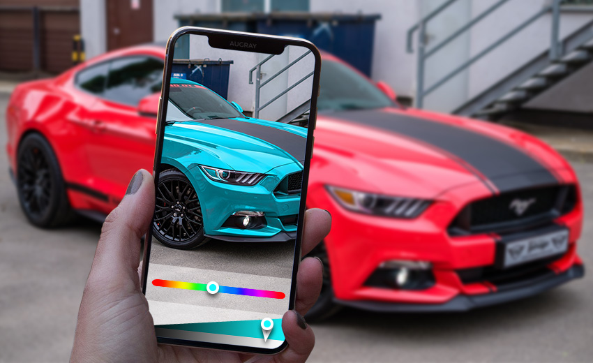 Augmented Reality in Automobile