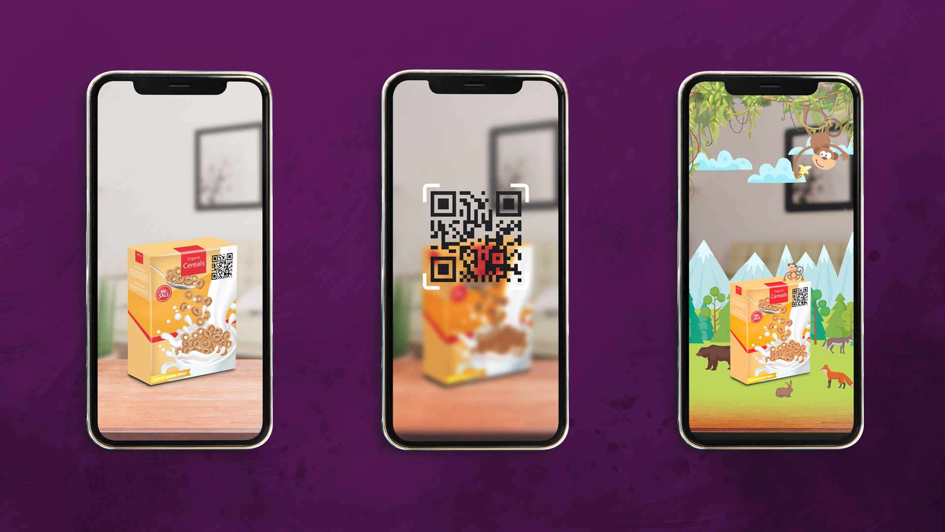 Qr scan augmented reality