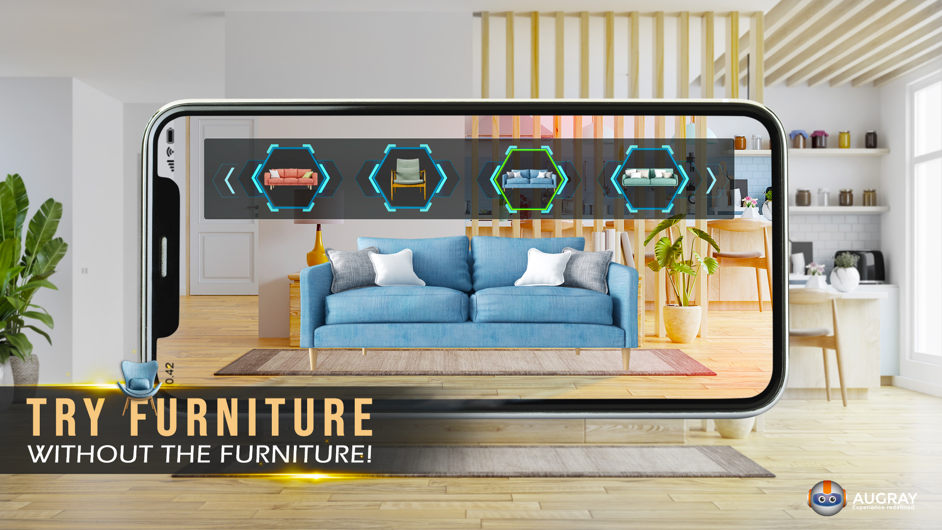 Web AR: Try Furniture, without the Furniture!
