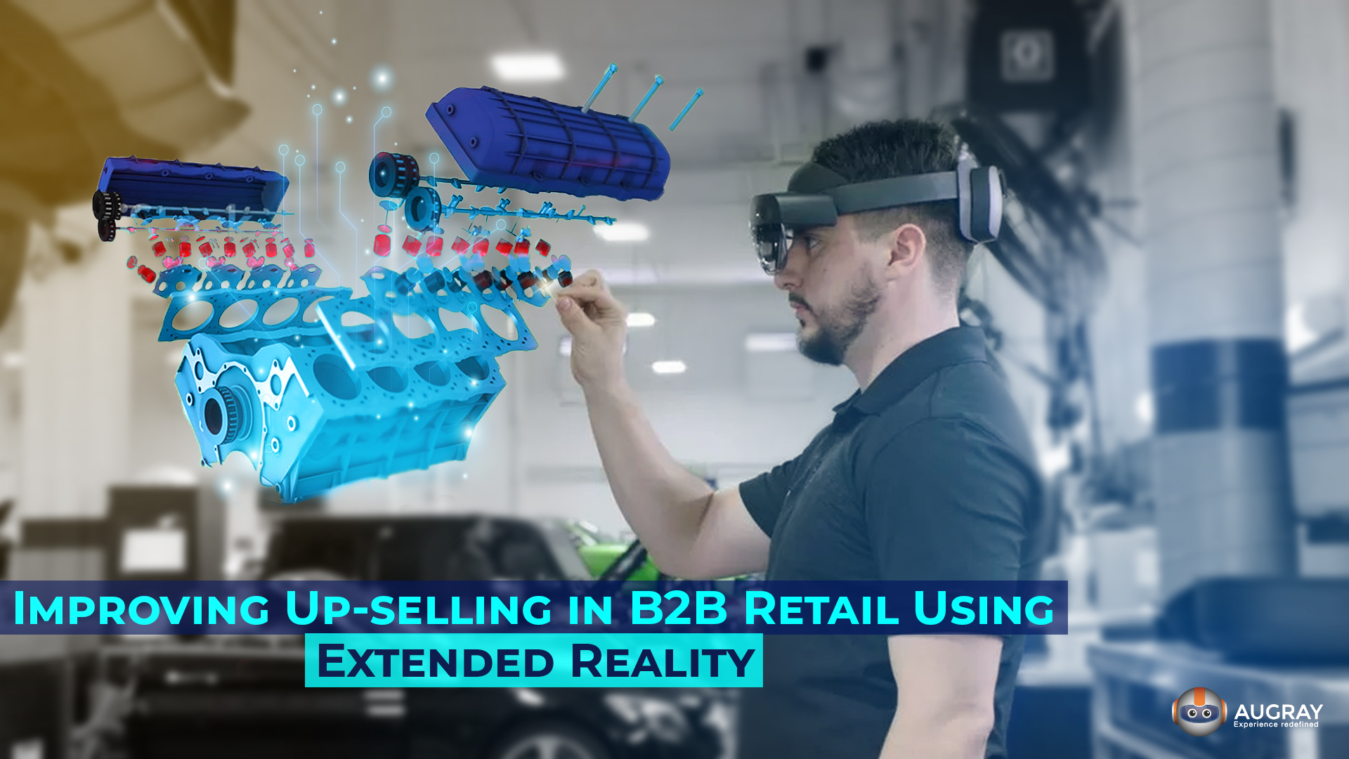 Improving Up-selling in B2B Retail Using Extended Reality